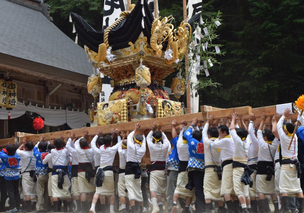 瀧尾神社 秋祭り