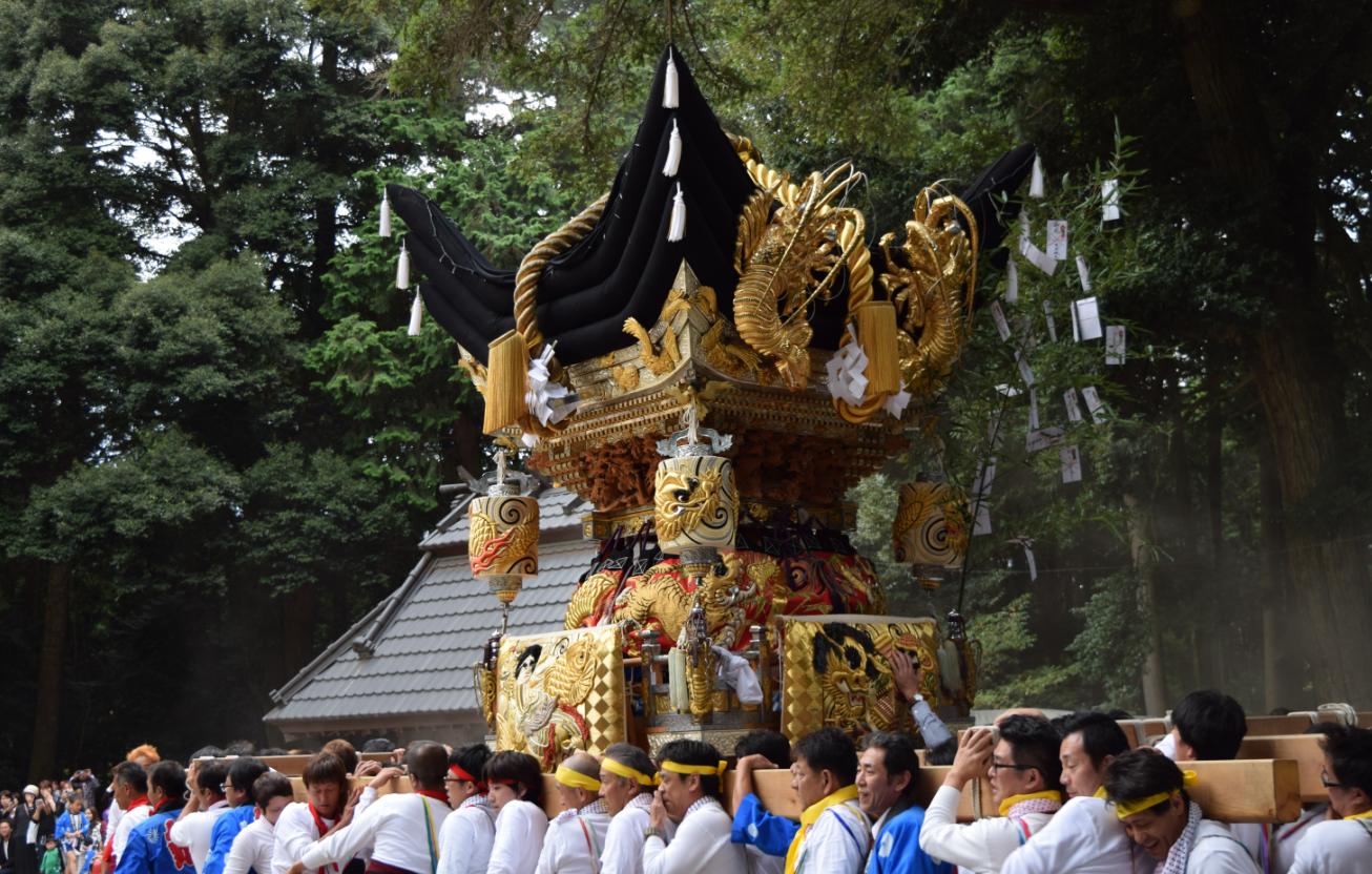 瀧尾神社秋祭り/黒田官兵衛の生誕の地