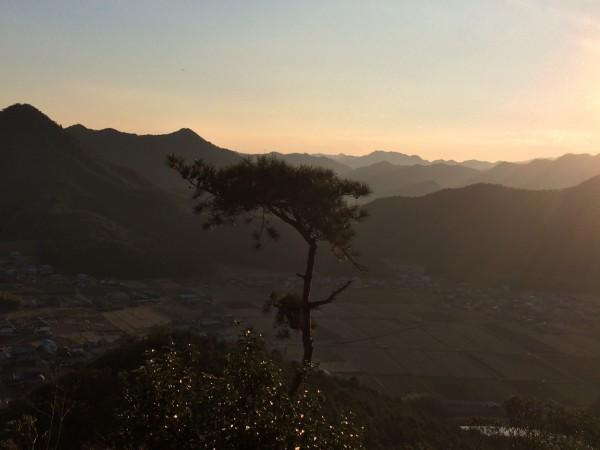 黒田庄山頂