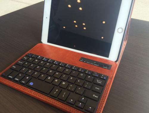 iPadmini3に キーボードを付けたら超小型のノートブックになる