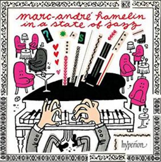 アレクシス・ワイセンベルク作曲/Marc-André Hamelin in a state of jazz