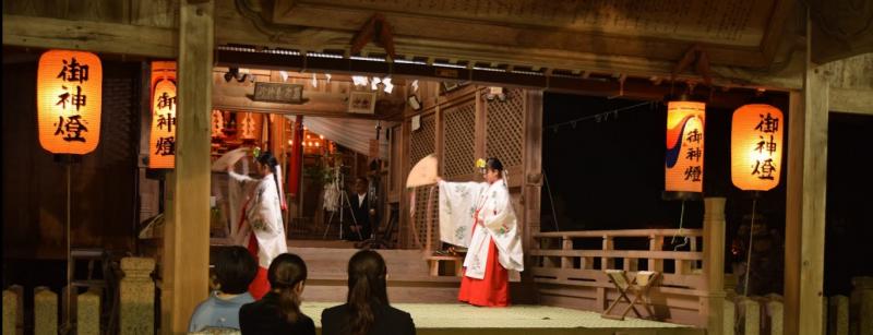 瀧尾神社 舞姫