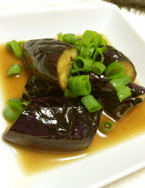 「毎日の料理を楽しみに」COOKPAD/茄子の煮びたし