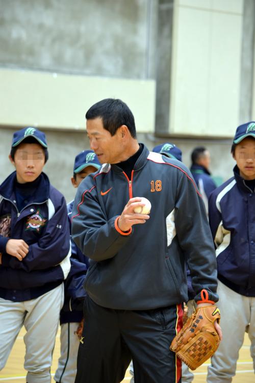 桑田真澄氏ら元プロの指導/少年野球教室in西脇市