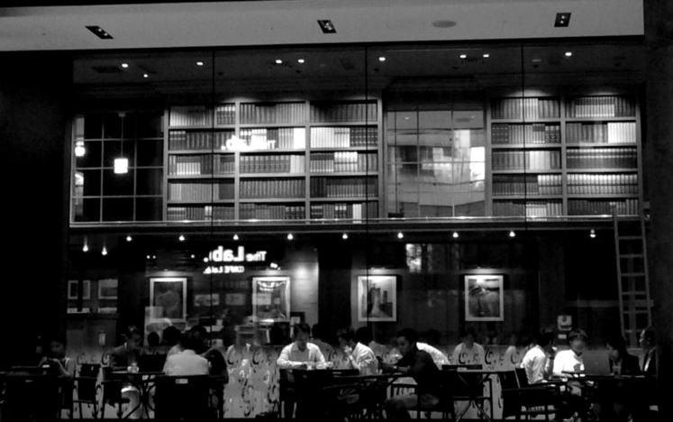 エフェクトモードで都会を取ってみた/NikonD5300