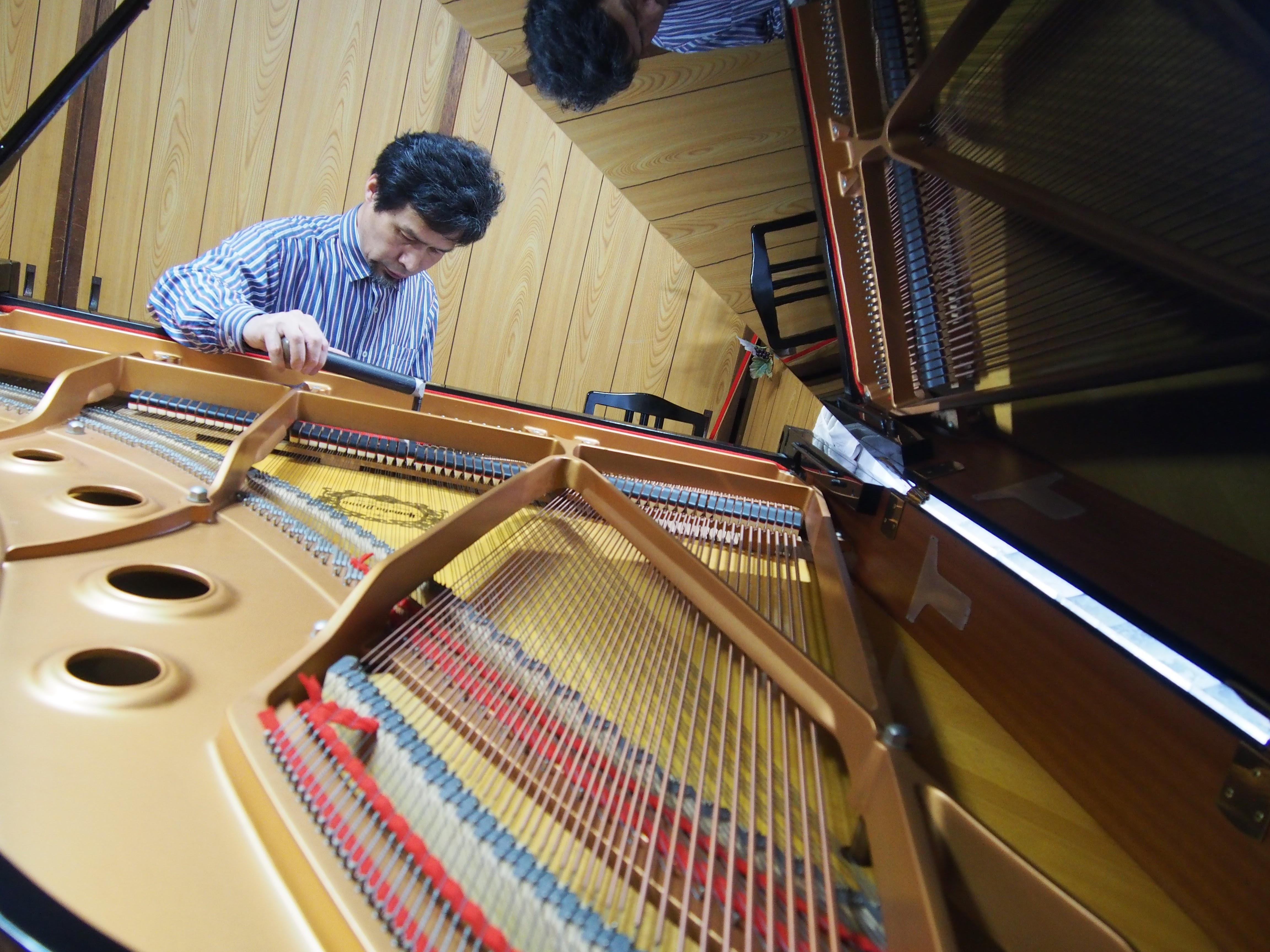 ピアノがメッチャ良い音になる岡本調律師の仕事を紹介します